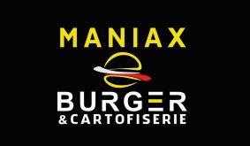 Maniax Burger logo
